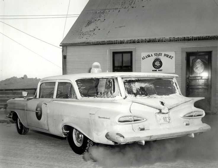Alaska State Police post in Nome, CA. 1960