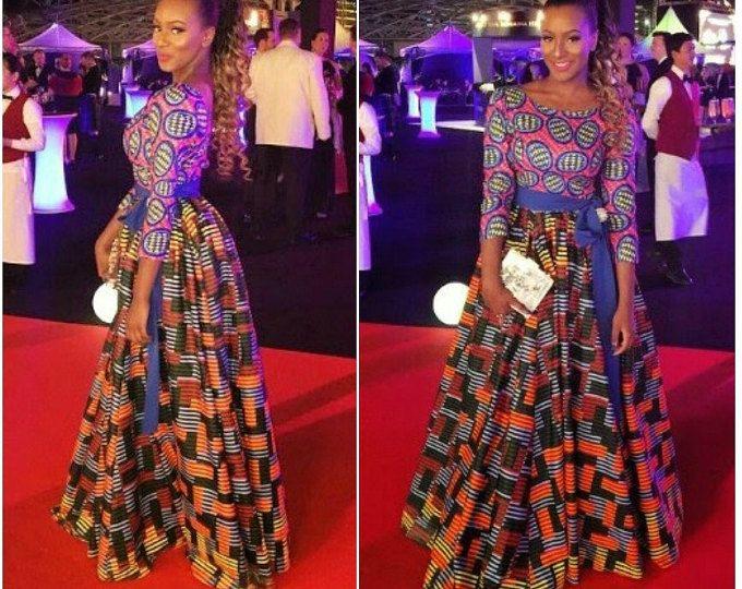 Nuvu Vlisco robe longue, vêtements africains, robe africaine, la boutique africaine, robe de mariée africaine, tenue africaine, africaine, afro