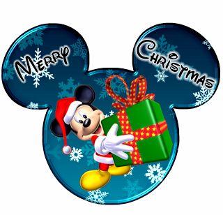 Imprimibles de Disney para Navidad con Mickey y Minnie. 5 diferentes.