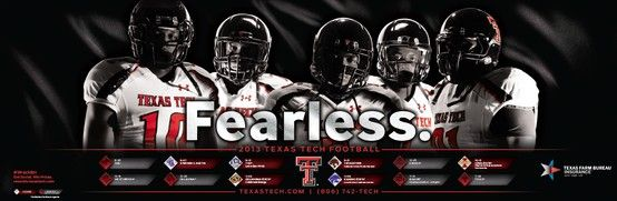 2013 Texas Tech Football Defense Poster