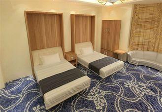 China Versteckte hölzerne der Raumersparnis MDF falten Schrankbett für Schlafzimmer-Möbel zusammen Lieferant