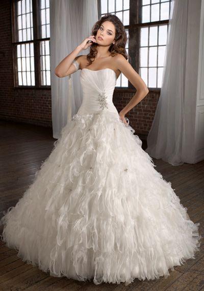 A swan lake bride