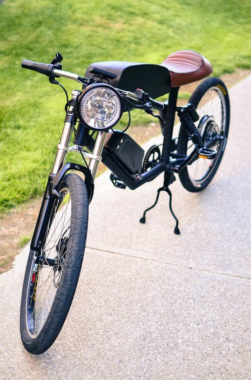 The Tempus CR-T1 delivers café racer style with an electric drivetrain