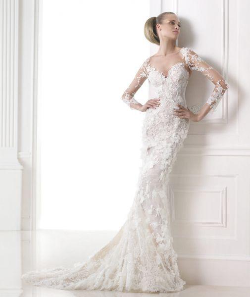 Recycled Wedding Gowns: Brautkleider Mit Tattoo-Effekt 2015: So Schreiten Sie