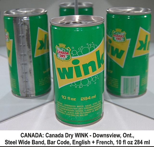 Wink grapefruit soda...loved.  I still see it here and there once in a while.