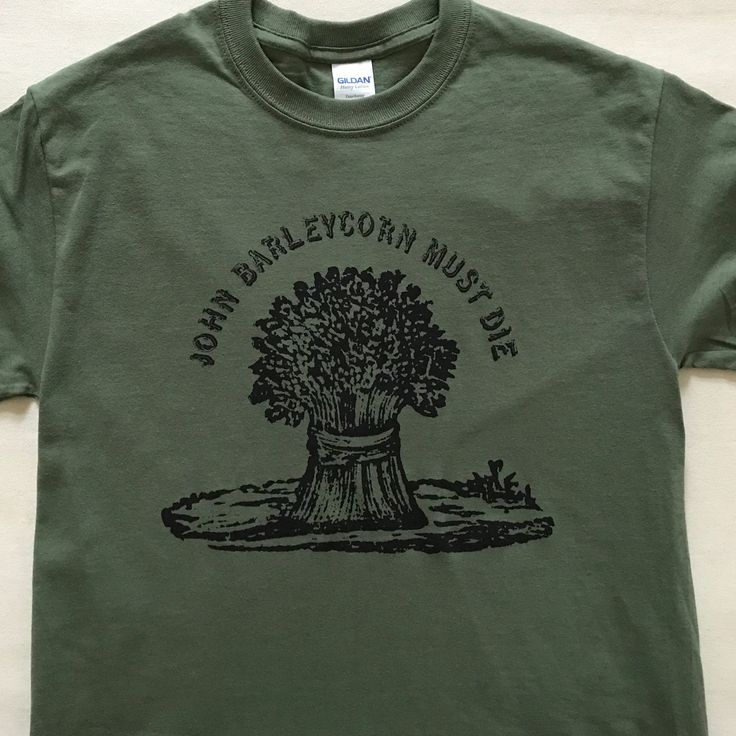 Military Green Barleycorn #traffic #tshirts