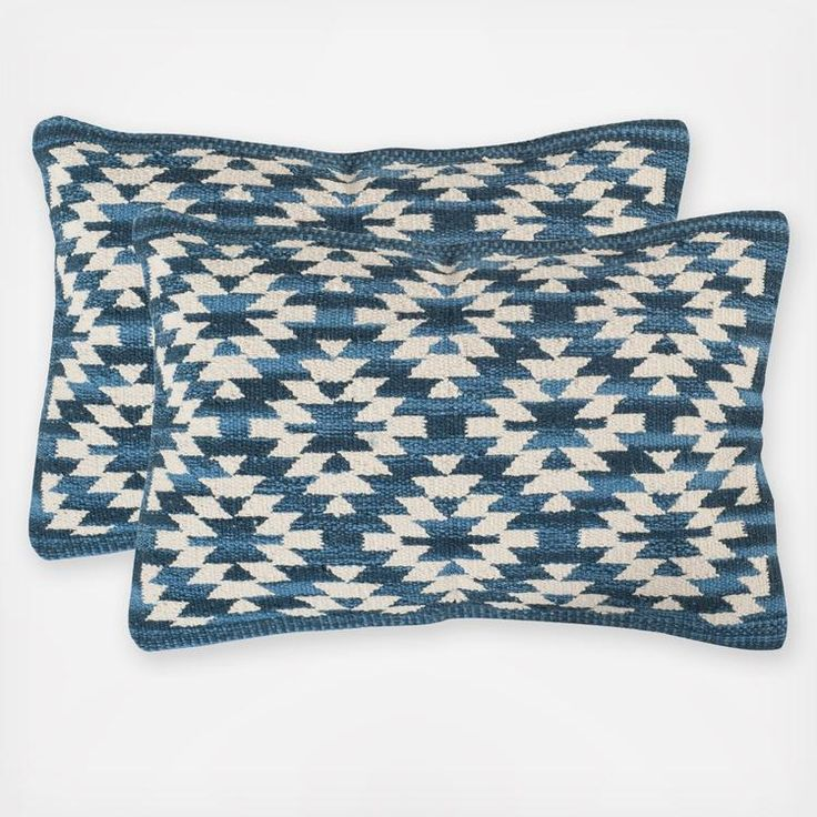 Designed to enhance a room with casual southwestern flair, this transitional accent pillow is crafted from a pure cotton kilim weave fabric for texture and rustic chic style.