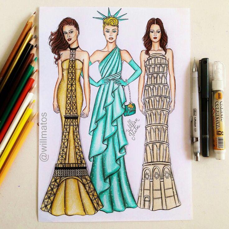 #fashion4arts #willmatos #sempredesenhando #desenhandosempre #arts_helps…