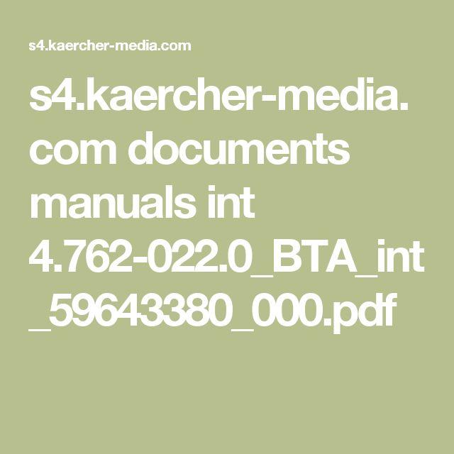 s4.kaercher-media.com documents manuals int 4.762-022.0_BTA_int_59643380_000.pdf
