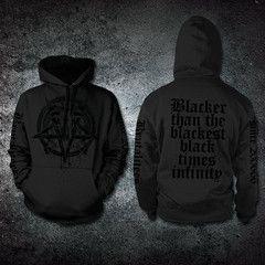 Blacker Than The Blackest Black Hoodie