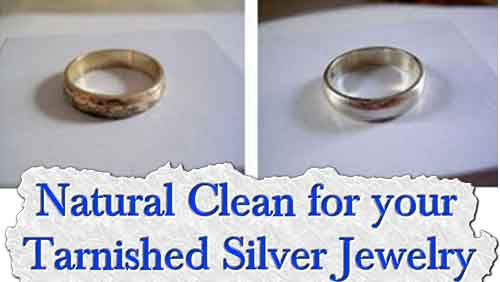 Natural Clean for your Tarnished Silver Jewelry   We've all been in this situation before: you buy a pair of beautiful silver earrings, a necklace, a brace