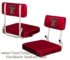 Texas Tech Red Raiders Hardback Stadium - Bleacher Seat $35.00