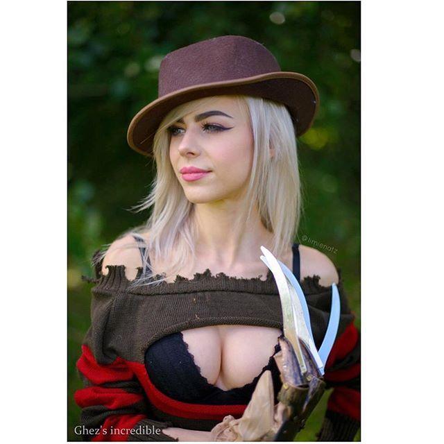 Freddy Krueger (Nightmare on Elm Street) by my badass page model @limienatz ————— #freddykrueger #nightmareonelmstreet #cosplay #cosplayer #model #comic #comics #comicbook #geek #geekgirl #nerd #game #gamer #gamergirl #twitch #otaku #anime #manga #kawaii #boudoir #sexy #sexycosplay #cute #hot #selfie #instadaily #instagood #photooftheday #hotandgeeky