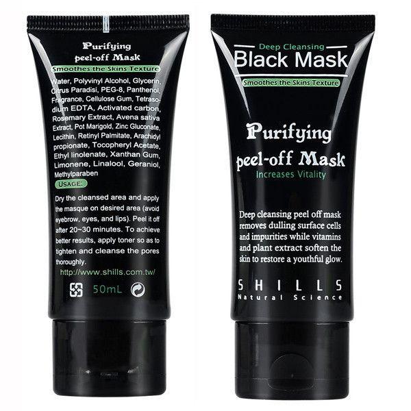 Deep Cleansing & Purifying Black Peel-off Mask