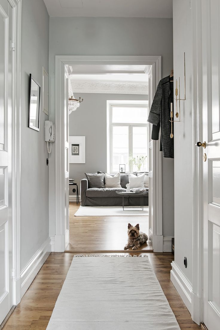 beautiful and cozy home in grey via coco lapine design blog. beautiful ideas. Home Design Ideas