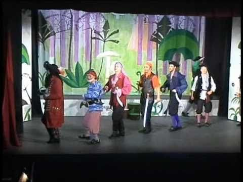 2005 Peter Pan - 02 Never Smile At A Crocodile (Behind You Song) - YouTube