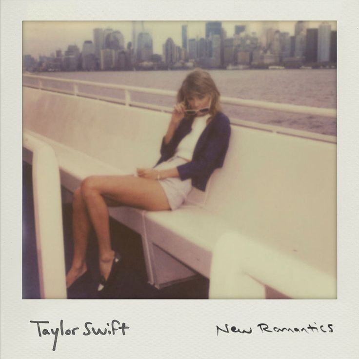 Caratula Frontal de Taylor Swift - New Romantics (Cd Single)