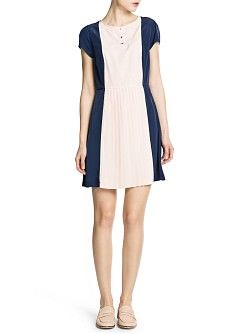 MANGO - KLEDING - Jurken - Geplooide jurk