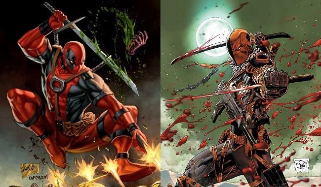 Batalla Comparativa: Deathstroke VS Deadpool