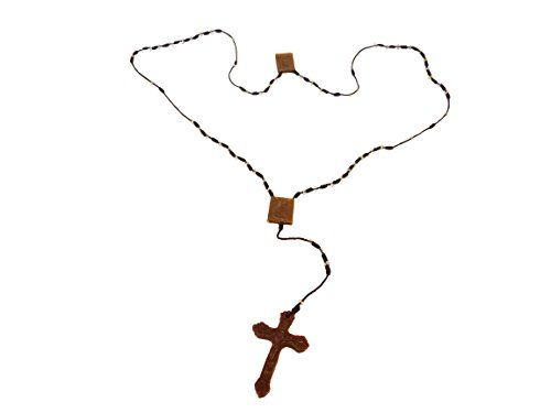 The scapular consists of a cross and two pieces of brown medals with one segment hanging on the wearers chest and the other hanging on his/her back. These pieces are joined by two straps or strings which overlap each shoulder-hence the word scapular (shoulder blade). On July 16th 1251 the Blessed Mary made this promise to Saint Simon Stock: Take this Scapular it shall be a sign of salvation a protection in danger and a pledge of peace. Whosoever dies wearing this Scapular shall not suffer…