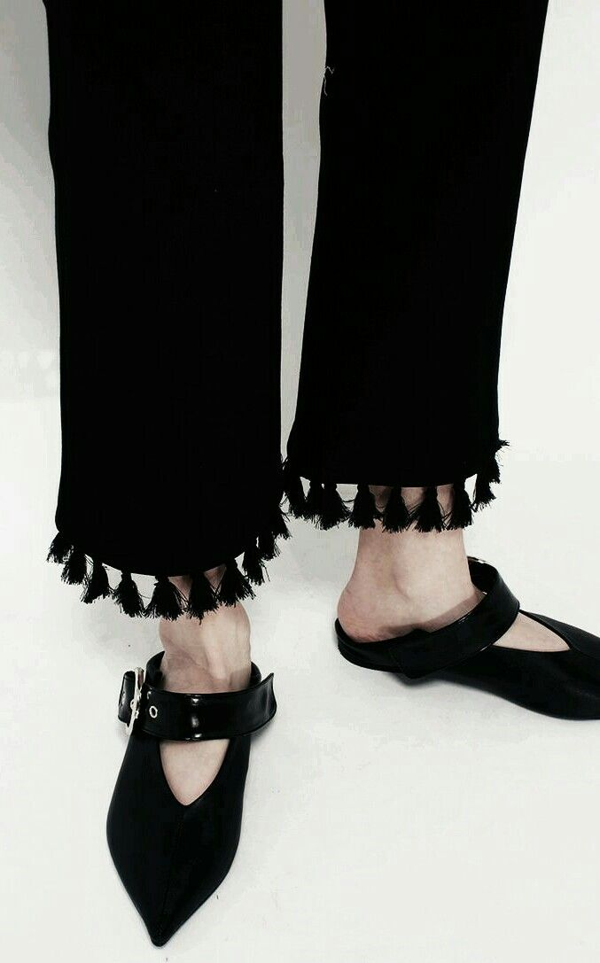 Visibly Interesting: not too into the mars frances mule but love the  tassels!