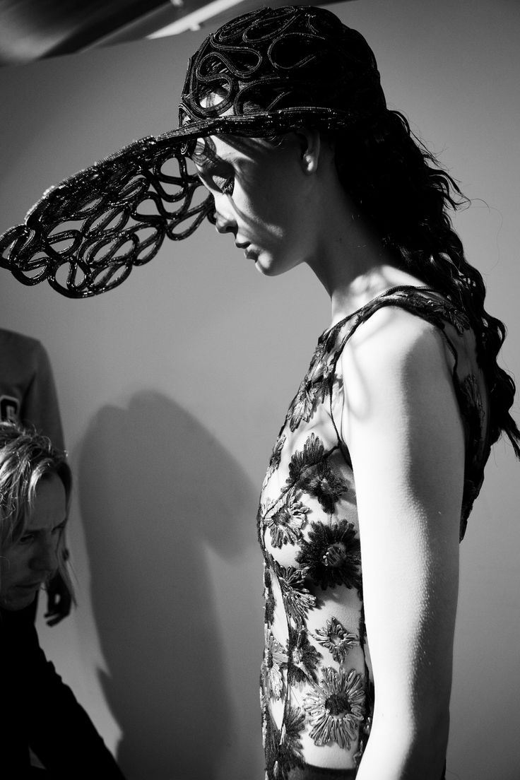 John Rocha SS14 backstage, photo by www.michellebeatty.com #backstage #ss14 #lfw with Bryan Morel PR