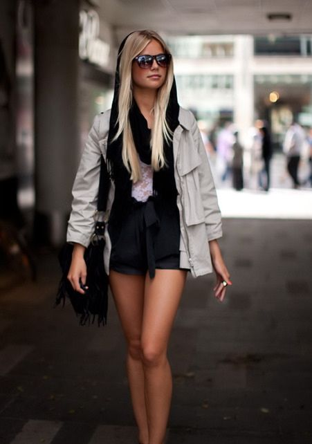 //Fashion, Hair Colors, Street Style, Outfit, Jackets, Blondes Ombre, Cars Girls, Girls Style