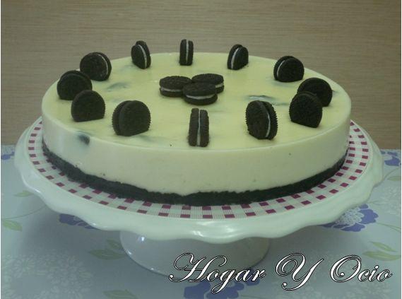 Hogar y Ocio: Cheesecake de chocolate blanco y oreo