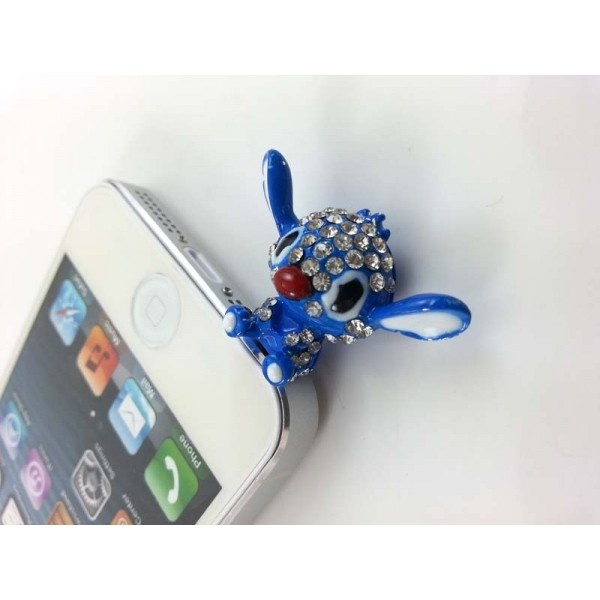 Cep Telefonu Küpesi Creatures Blue    3.5 mm Kulaklık girişi olan tüm telefonlarla uyumludur.  Taşları kalitelidir.   https://www.telefongiydir.com/3.5-mm-cep-telefonu-kupesi-creatures2?filter_name=k%C3%BCpe