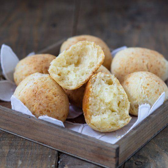 #delicious Pao de Queijo, Brazilian Bread #foodie
