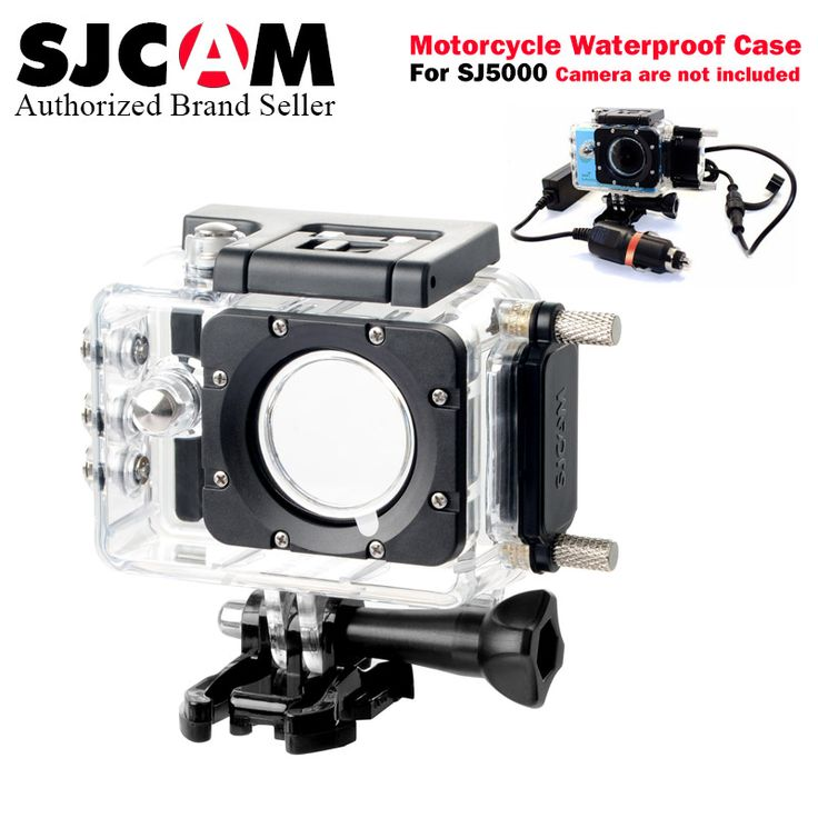100% Original SJCAM sj5000 Brand Motorcycle Waterproof Case Charger for Series SJ5000 Series Accessories for SJ5000X 4K #Affiliate