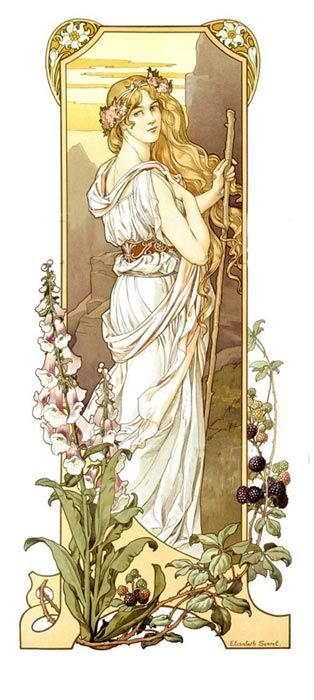 elisabeth sonrel 1874-1953 - fleurs des montagne