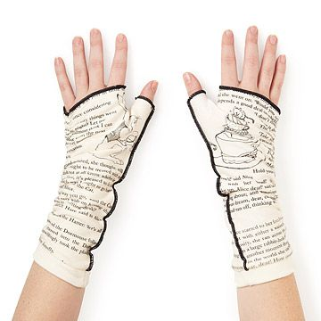 Look what I found at UncommonGoods: Literary Writing Gloves for $26 #uncommongoods