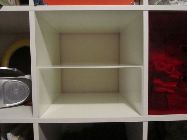 Ikea Expedit Dividing A Cube In Half Creating An Extra