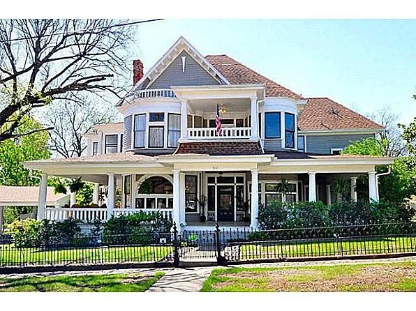 Victorian home in McKinney, Tx