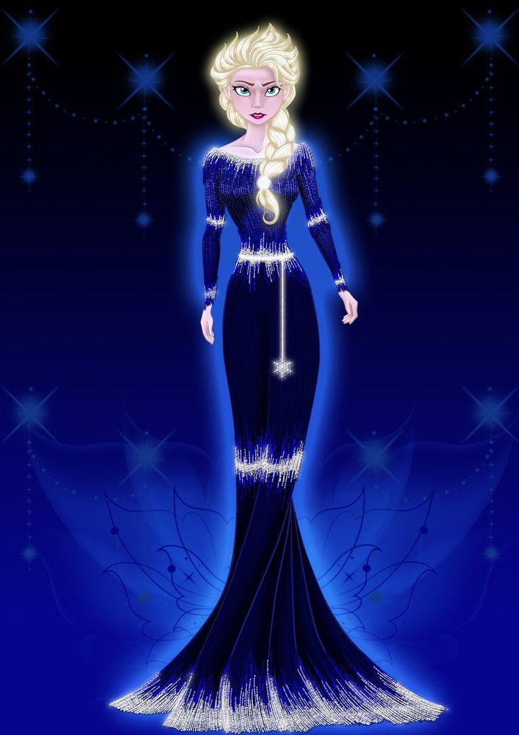 The Glow of the Snow Queen by MissMikopete.deviantart.com on @deviantART