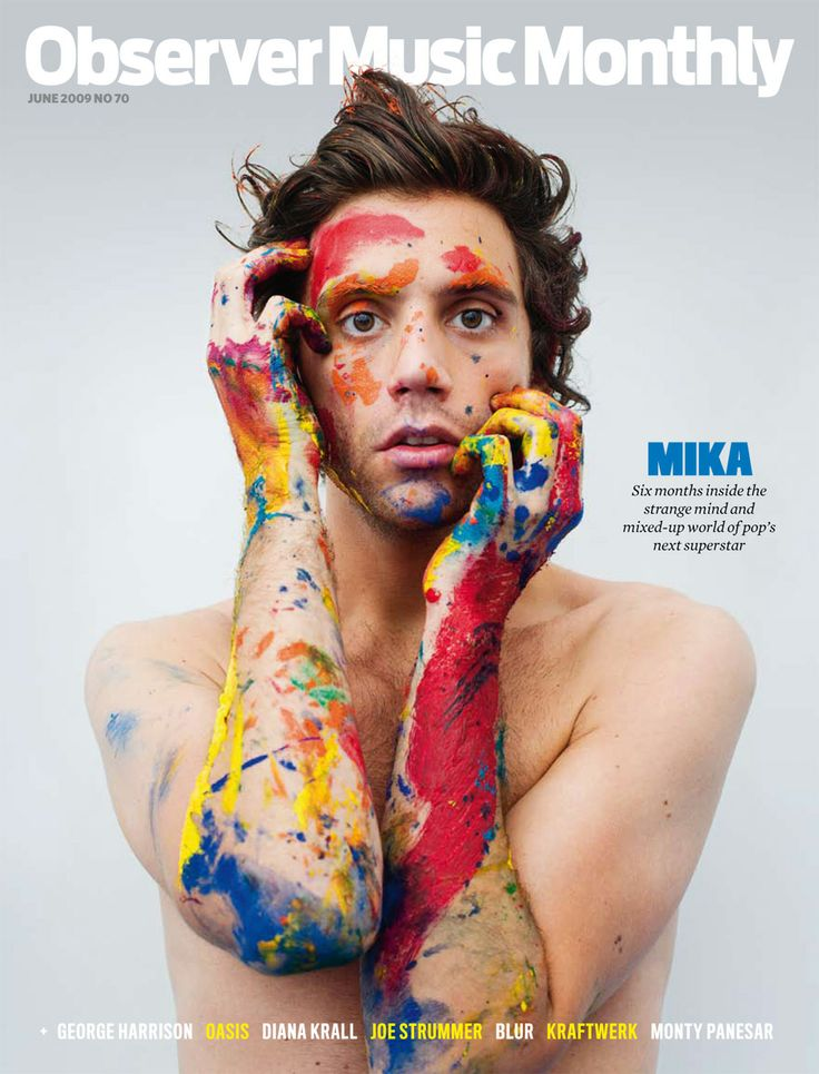 Mika, el cantante que es la sensasión de Europa... o como Mika se copia de La Vida Boheme con ese montón de pintura encima