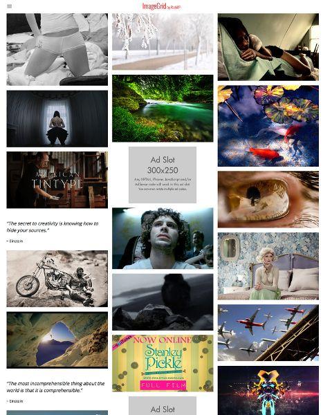 ImageGrid - WordPress Gallery Grid Theme