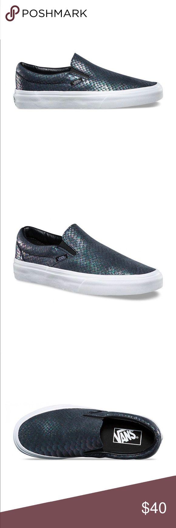 Classic slip on vans Metallic snake vans slip ons , size : 10 mens Vans Shoes Sneakers