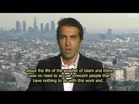 "Mosab Hassan Yousef denies link to anti-Islam ""Innocence of the Muslims""..."