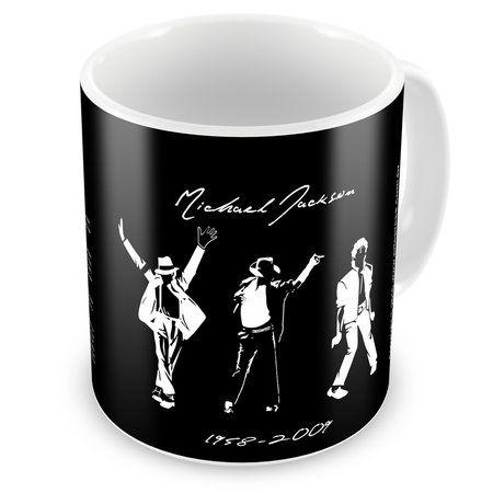 Caneca Personalizada Michael Jackson Moonwalker e História