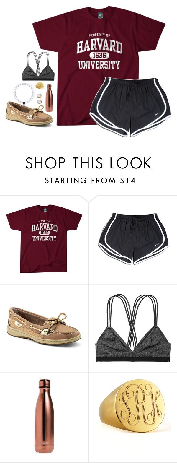 """Untitled #120"" by hannyjep on Polyvore featuring NIKE, Sperry, Victoria's Secret, S'well, Sarah Chloe and Kendra Scott"