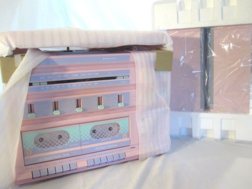 Details about 1980's Vintage Sears Roebuck PINK Stereo ...