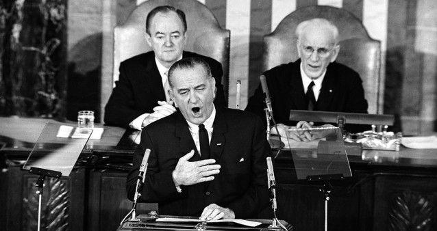 50 Years Ago, Lyndon Johnson Delivered The Most Perfectly Radical Speech In Presidential History
