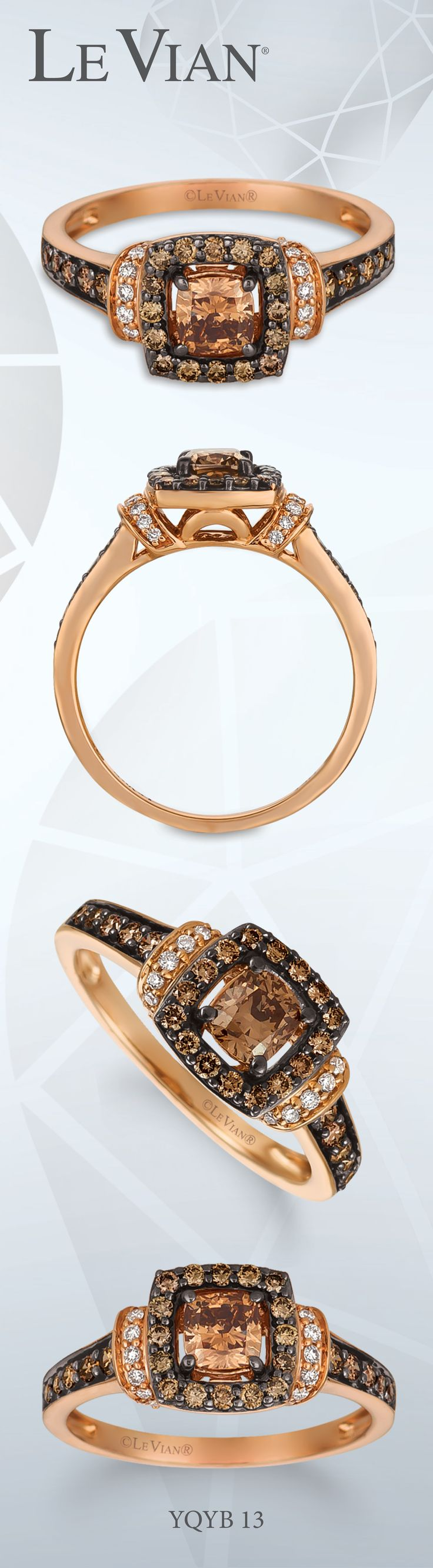 and gold chocolate vian w t jewelry le diamond pin s macy in ring rings stud ct white watches