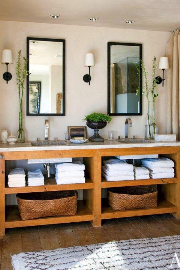 48 Cool Modern Bathroom Vanity Designs And The Accessories Part 19 Rustic Modern Bathroom Diy Bathroom Vanity Bathroom Design