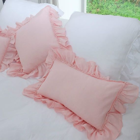 linen pillow covers pillows bed linen