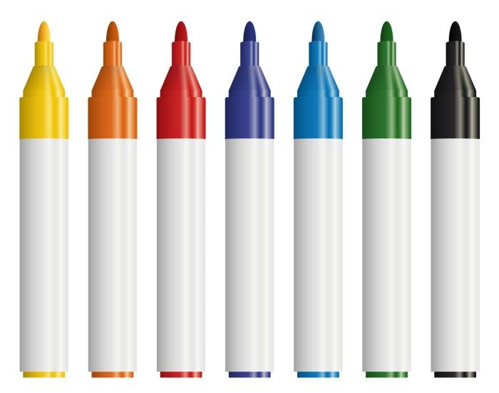 The smooth writing Nissen Solid Paint Markers make marking smooth, fast and easy