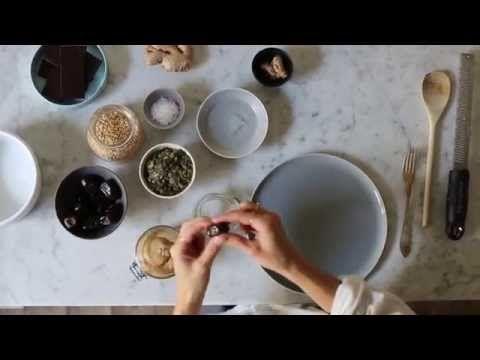 Rhubarb Upside-Down Yogurt Cake | Green Kitchen Stories - YouTube