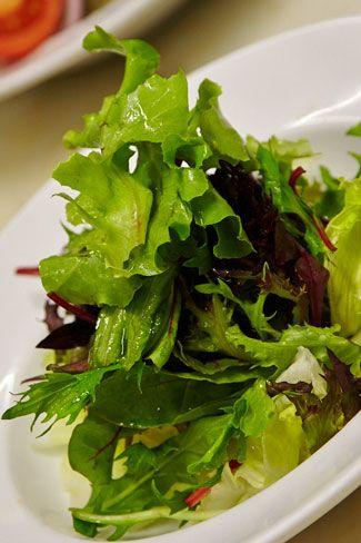 Hurricane's fresh green side salad
